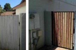 Gate Installation (Before & After)