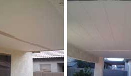 Patio Roof (Before & After)