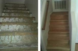 Stairs (Before & After)